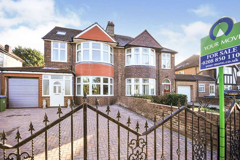 4 Bedrooms Semi Detached House for sale in Middle Park Avenue, London, SE9