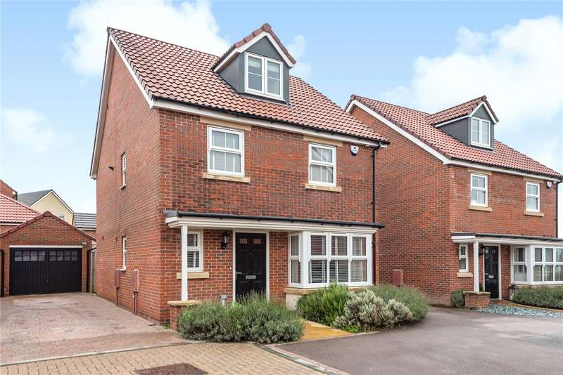 4 Bedrooms Detached House for sale in Swallowcroft, Eastington, Gloucestershire, GL10