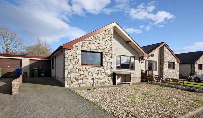 3 Bedrooms Bungalow for sale in Croes Y Waun, Waunfawr, Caernarfon, Gwynedd, LL55