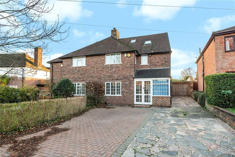 5 Bedrooms Semi Detached House for sale in Poplars Close, Ruislip, Middlesex, HA4