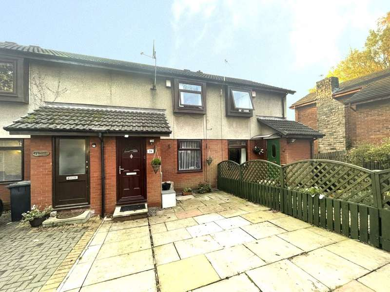 2 Bedrooms Terraced House for sale in Green Hill, Prestwich, Manchester, Greater Manchester, M25