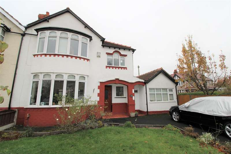 3 Bedrooms Semi Detached House for sale in Little Crosby Road, Great Crosby, Liverpool