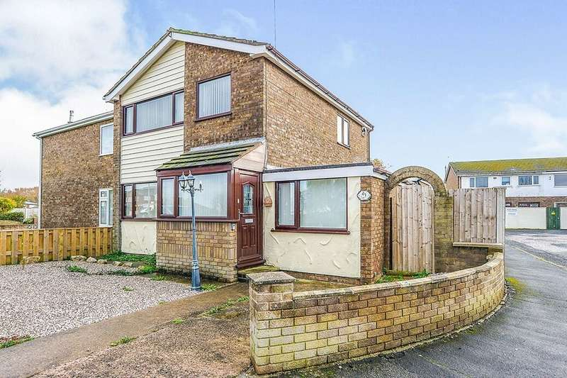 3 Bedrooms Semi Detached House for rent in Llys Madoc, Towyn, Abergele, LL22