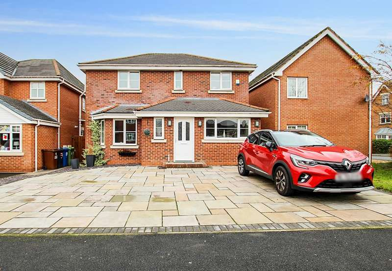 5 Bedrooms Detached House for sale in Weavermill Park, Ashton-in-Makerfield, Wigan, WN4