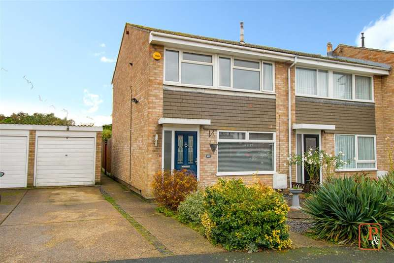 3 Bedrooms End Of Terrace House for sale in Adelaide Drive, Colchester CO2