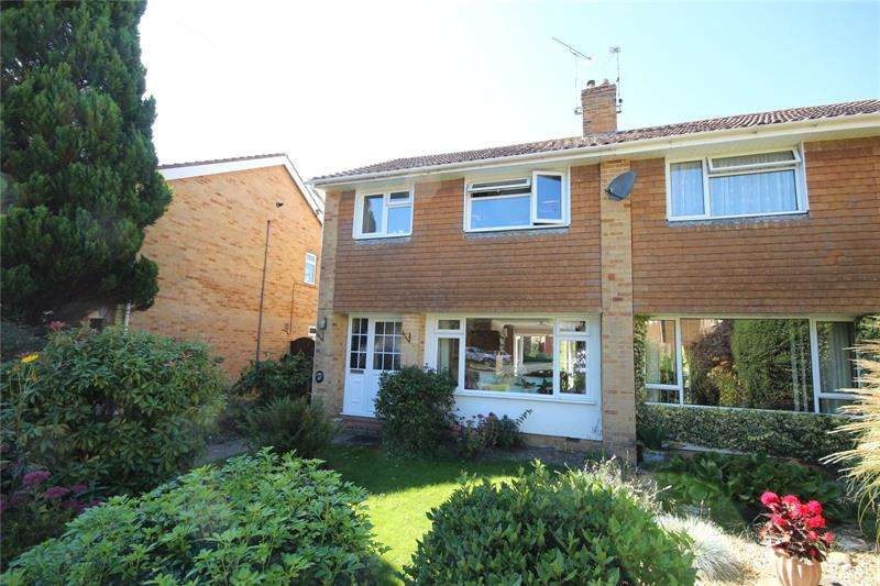 3 Bedrooms Semi Detached House for rent in Poulner Park, Ringwood, Hampshire, BH24