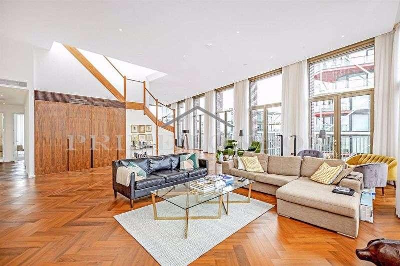 3 Bedrooms Property for rent in Capital Building, Embassy Gardens, Nine Elms