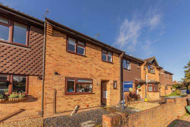 3 Bedrooms Terraced House for sale in Fallowfield, Yateley, Hampshire