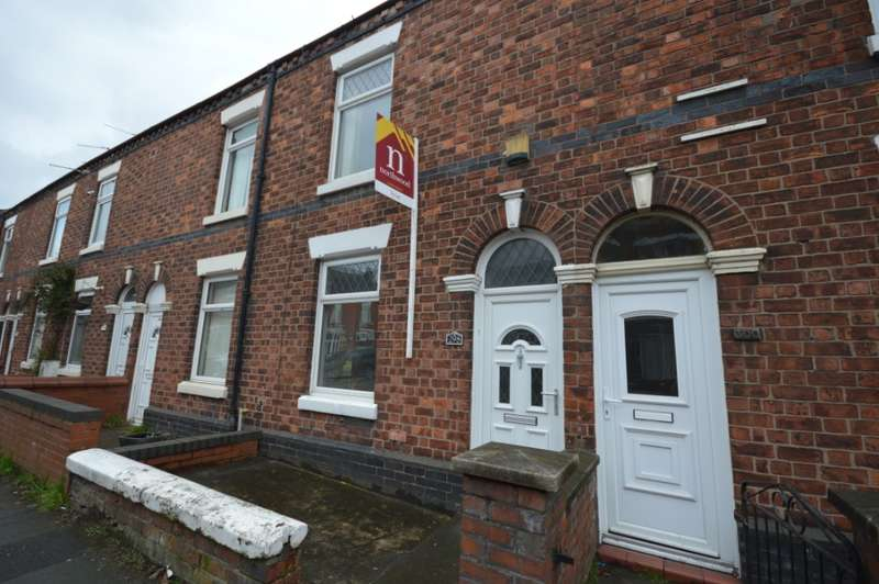 2 Bedrooms Terraced House for rent in West Street, , Crewe, CW1 3HT