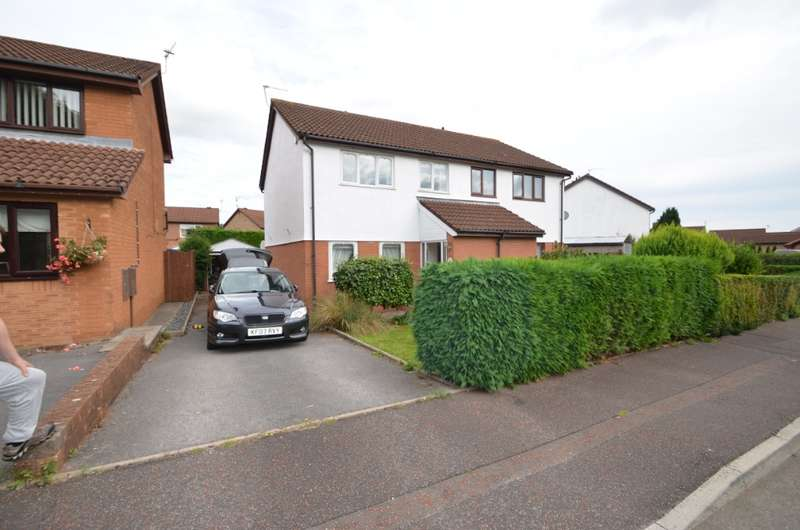 3 Bedrooms Semi Detached House for rent in Pennyroyal Close, St. Mellons, Cardiff, CF3 0NA