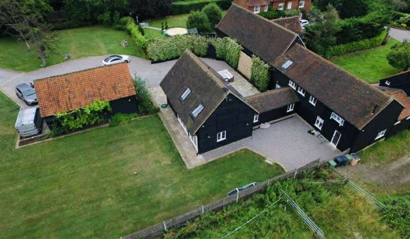 5 Bedrooms Detached House for sale in Bulls Cross Ride, Theobalds Park, Hertfordshire