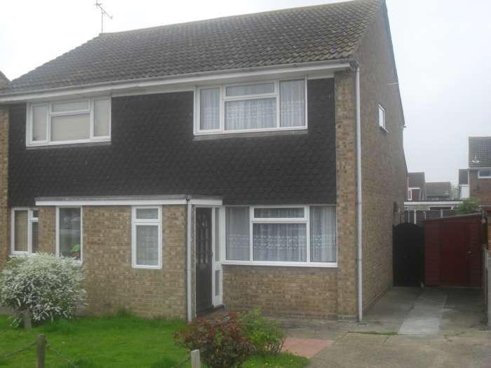 2 Bedrooms Semi Detached House for rent in Sandpiper Close, Shoeburyness