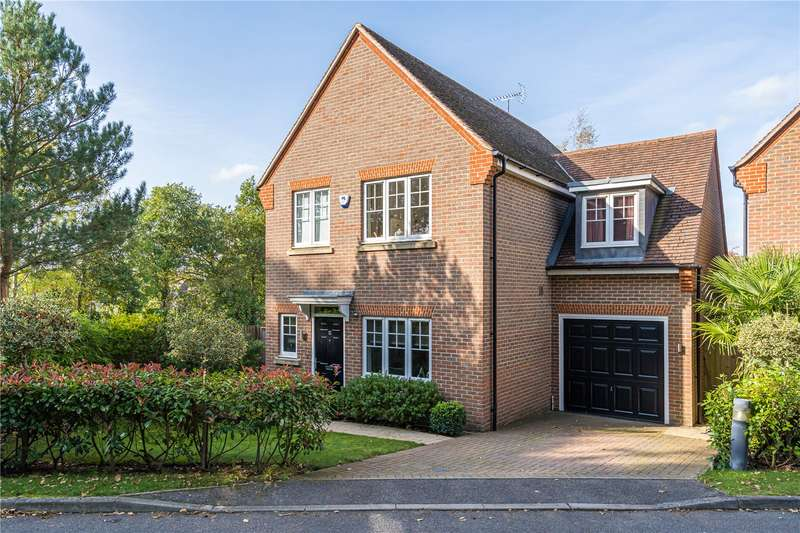 4 Bedrooms Detached House for sale in Northbury Lane, Ruscombe, Berkshire, RG10