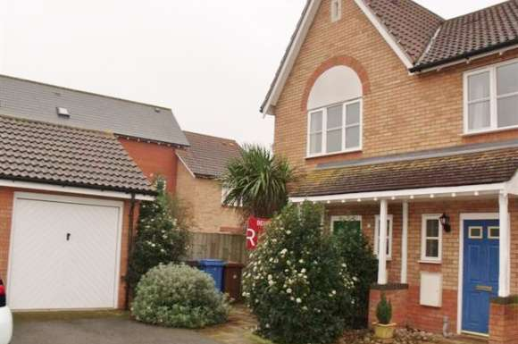 2 Bedrooms Semi Detached House for rent in Darter Close
