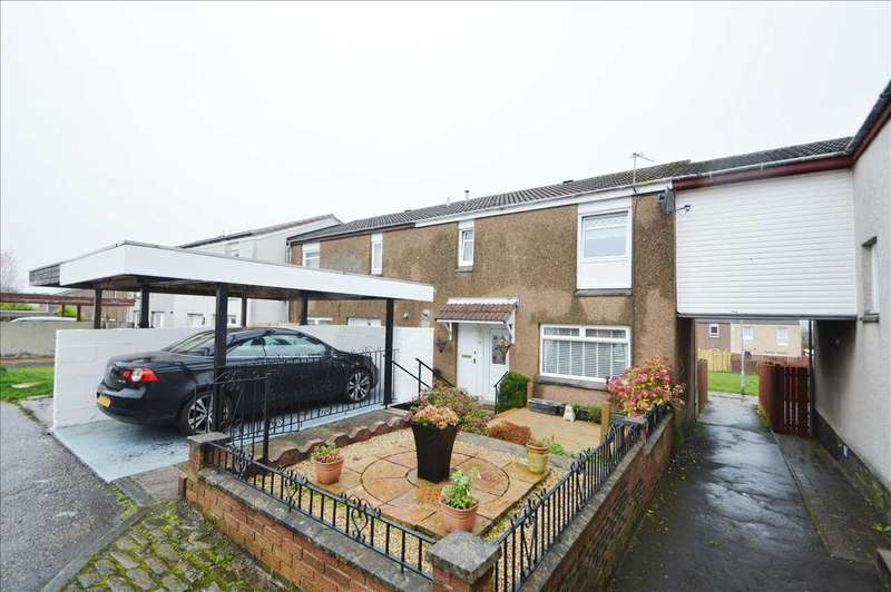 2 Bedrooms End Of Terrace House for sale in Creran Court, Hamilton
