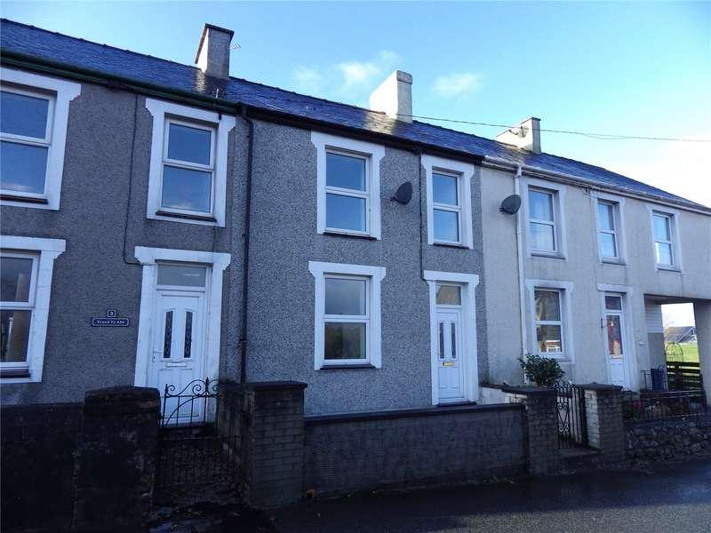3 Bedrooms Terraced House for rent in Bryn Afon Terrace, Llanrug, Caernarfon, Gwynedd, LL55