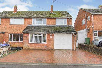 4 Bedrooms Semi Detached House for sale in Quarry Gardens, Dursley, Gloucestershire