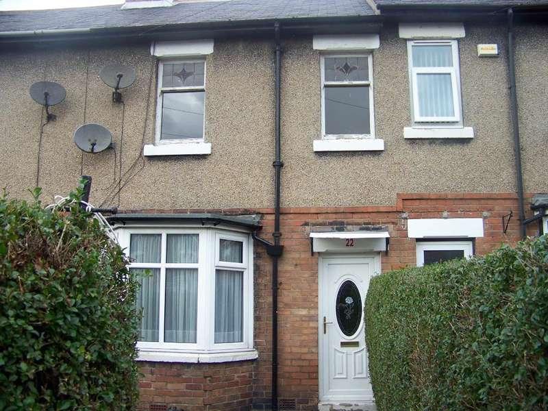 3 Bedrooms Terraced House for rent in Cavendish Gardens, Ashington, NE63 0EW