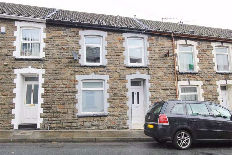 3 Bedrooms Terraced House for rent in Maddox Street, Tonypandy