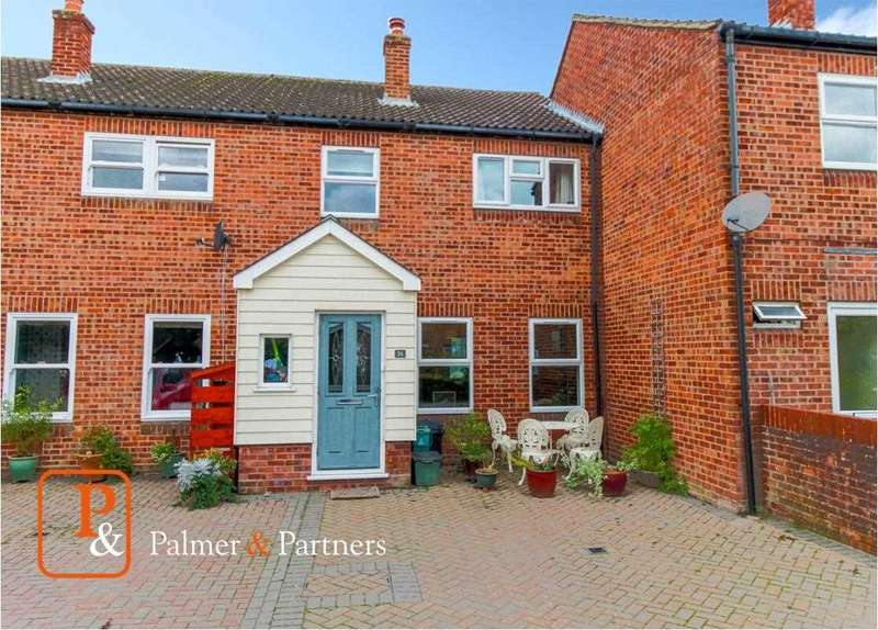 3 Bedrooms Terraced House for sale in The Crescent, Great Horkesley, Colchester CO6
