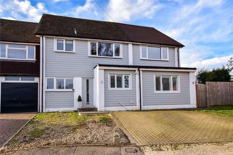 5 Bedrooms Semi Detached House for sale in Solesbridge Close, Chorleywood, Hertfordshire, WD3