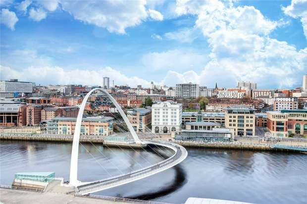 3 Bedrooms Flat for sale in Baltic Quay Penthouse, Mill Road, Newcastle, Tyne and Wear