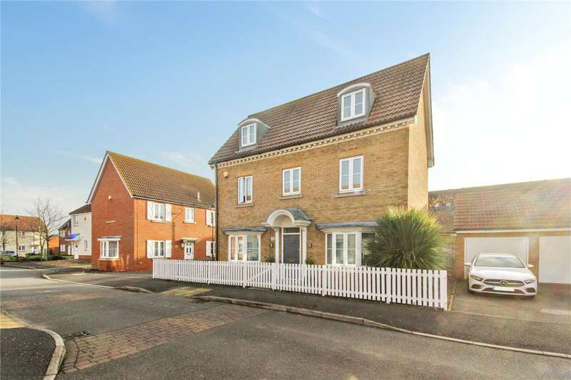 4 Bedrooms Detached House for sale in Sanderling Way, Iwade, Sittingbourne, ME9