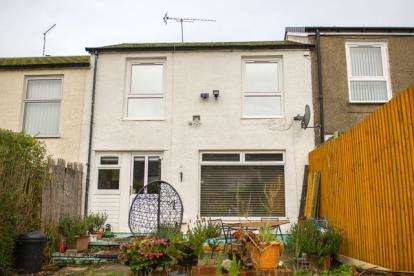 3 Bedrooms Terraced House for sale in Braeface Road, Seafar