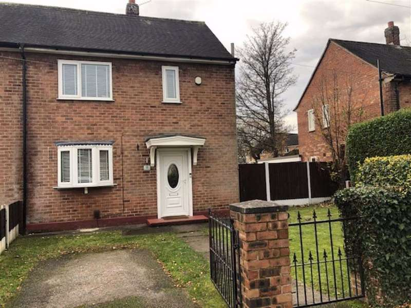 2 Bedrooms Semi Detached House for rent in Stoneacre Road, Wythenshawe