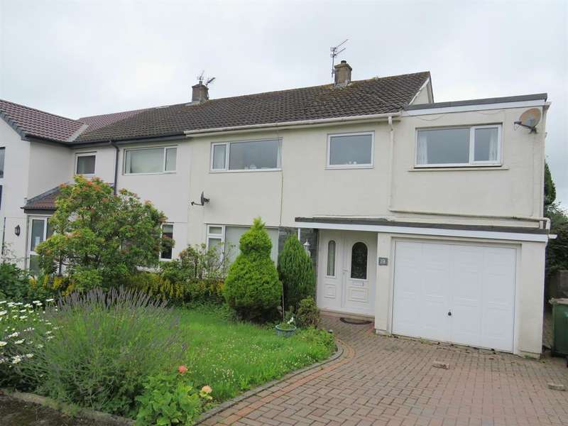 5 Bedrooms Semi Detached House for sale in Evening Hill Drive, Cockermouth, Cumbria, CA13 0BP