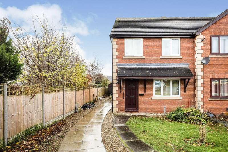 3 Bedrooms End Of Terrace House for sale in Ifton Fields, St. Martins, Oswestry, Shropshire, SY11