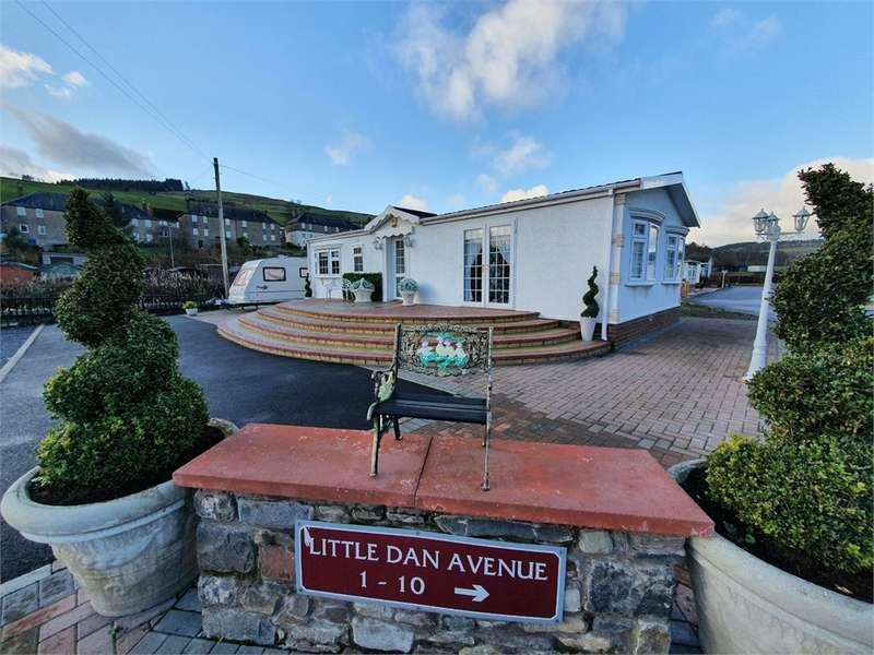 2 Bedrooms Park Home Mobile Home for sale in 1 The Chalet, Kilnknowe Caravan Site, Kilnkn, GALASHIELS, Scottish Borders