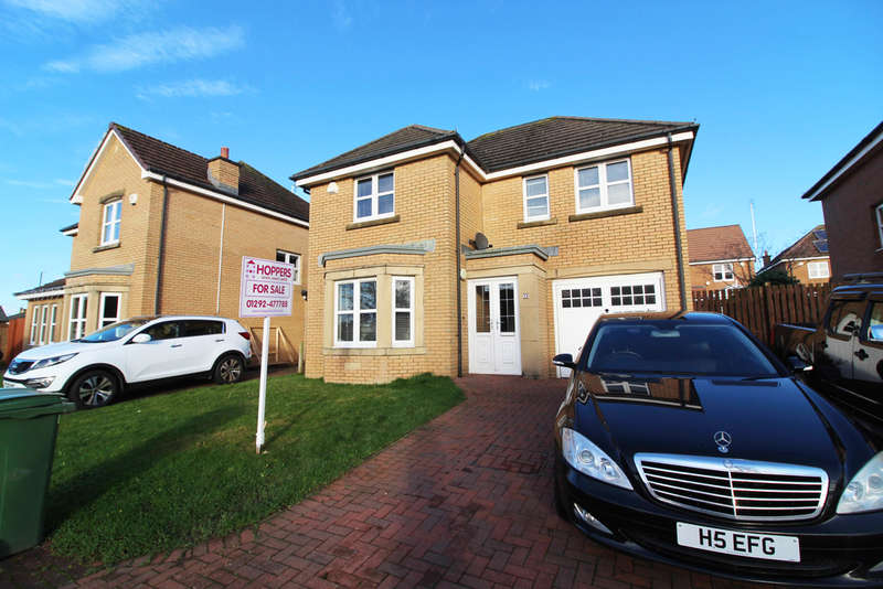 3 Bedrooms Detached House for sale in Whiteside Drive, Prestwick, KA9