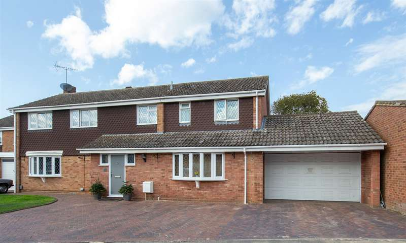 5 Bedrooms Detached House for sale in Dale Close, Toddington