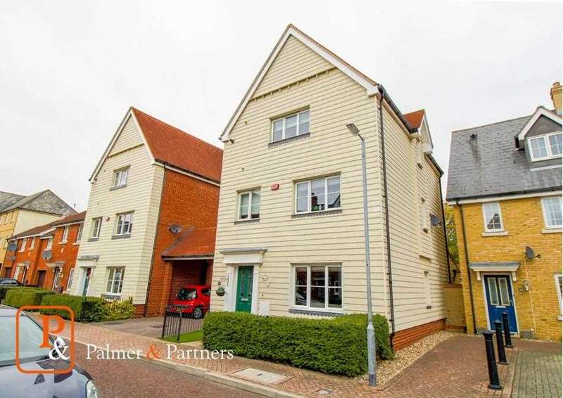 5 Bedrooms Town House for sale in Weetmans Drive, Mile End, Colchester, CO4