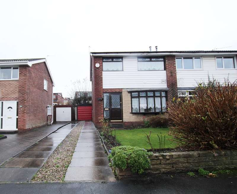 3 Bedrooms Semi Detached House for sale in Victoria Road, Ashton-in-Makerfield, Wigan, WN4