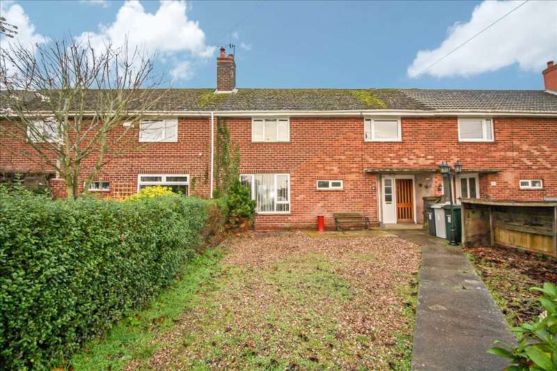 3 Bedrooms Terraced House for sale in Church Terrace, Main Road, Roughton, Woodhall Spa