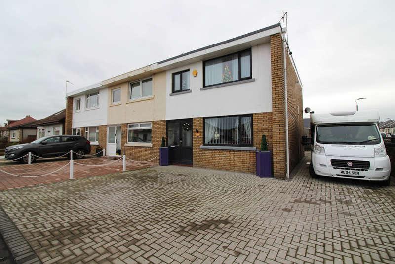 3 Bedrooms End Of Terrace House for sale in Bellrock Avenue, Prestwick, KA9