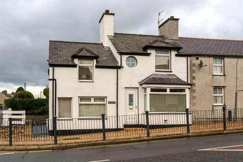4 Bedrooms End Of Terrace House for sale in Bridge Street, Llangefni, LL77