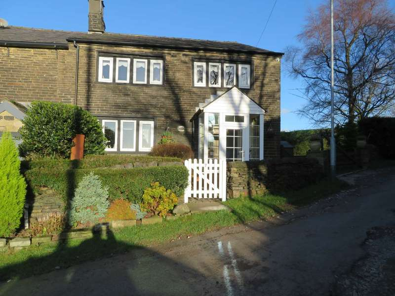4 Bedrooms Semi Detached House for sale in Cobweb Cottage, Higher Park, Shaw