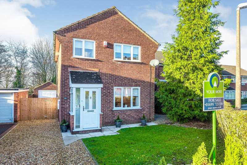 3 Bedrooms Detached House for sale in Foxfold, Skelmersdale, Lancashire, WN8