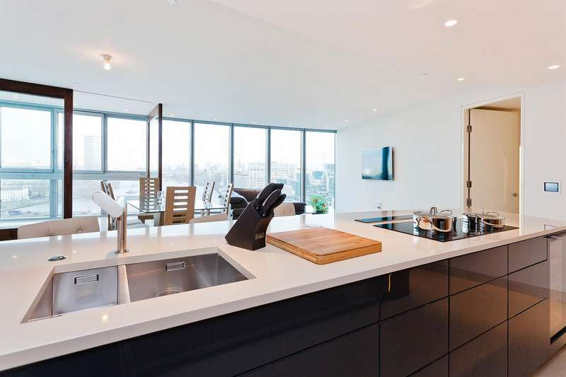 3 Bedrooms Flat for sale in The Tower, One St George Wharf, Nine Elms, SW8