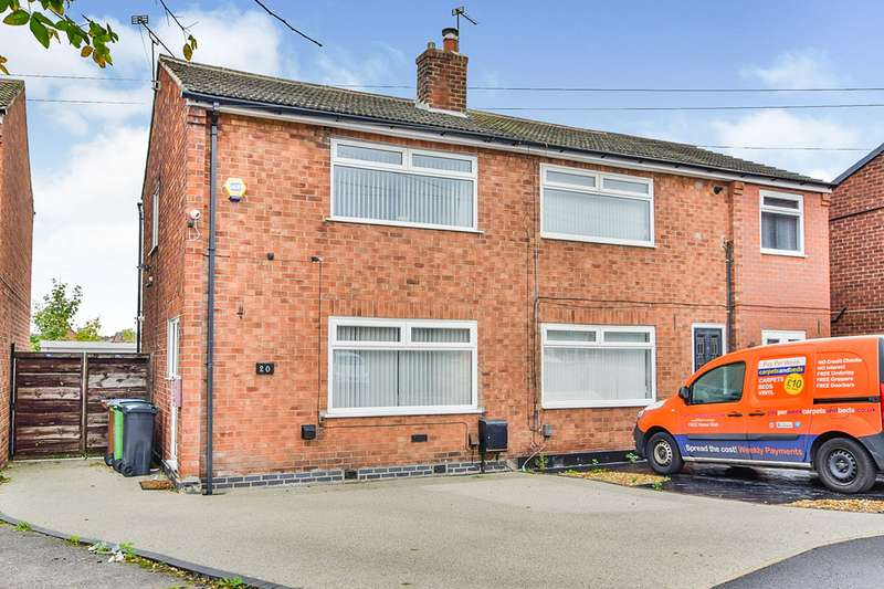 2 Bedrooms Semi Detached House for sale in Brookfield Close, Offerton, Stockport, Cheshire, SK1