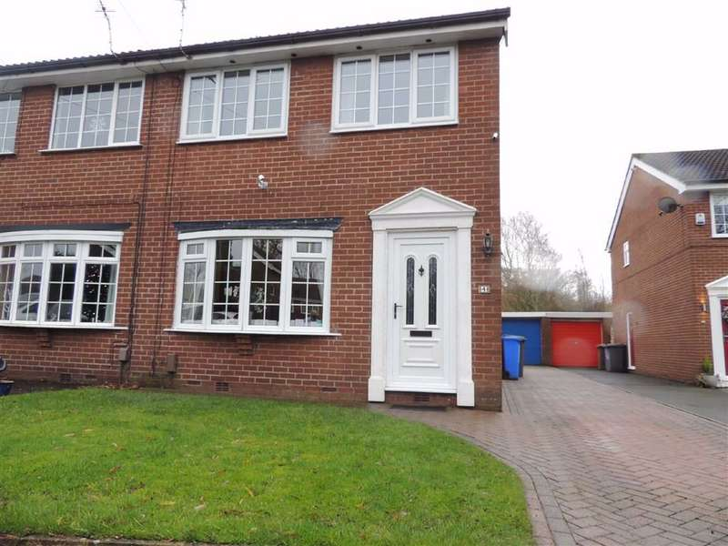 3 Bedrooms Semi Detached House for sale in St. Martins Close, Droylsden, Manchester