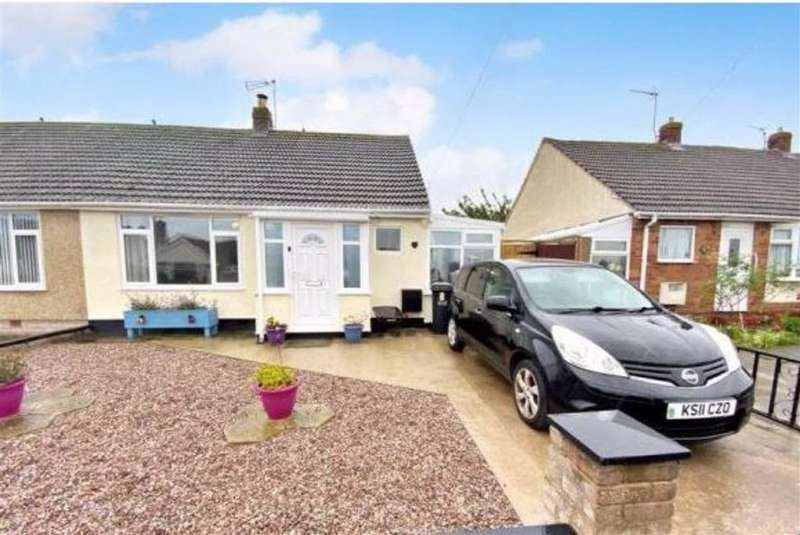 2 Bedrooms Semi Detached Bungalow for rent in Overton Avenue, Prestatyn, Denbighshire