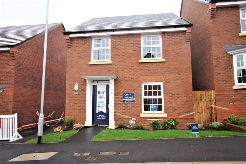 4 Bedrooms Detached House for sale in The Ingleby, Bentley Fields, Sorrell Close