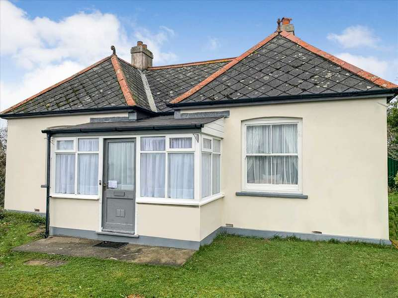 3 Bedrooms Detached House for sale in The Bungalow, Crowshire, Bude