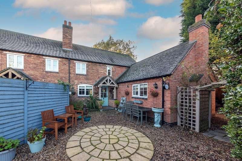 3 Bedrooms Cottage House for sale in Hillside Cottage, Cow Hill Lane, Fradley Village
