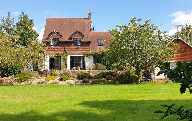 4 Bedrooms Detached House for sale in Goathurst Common, Ide Hill, Sevenoaks, Kent