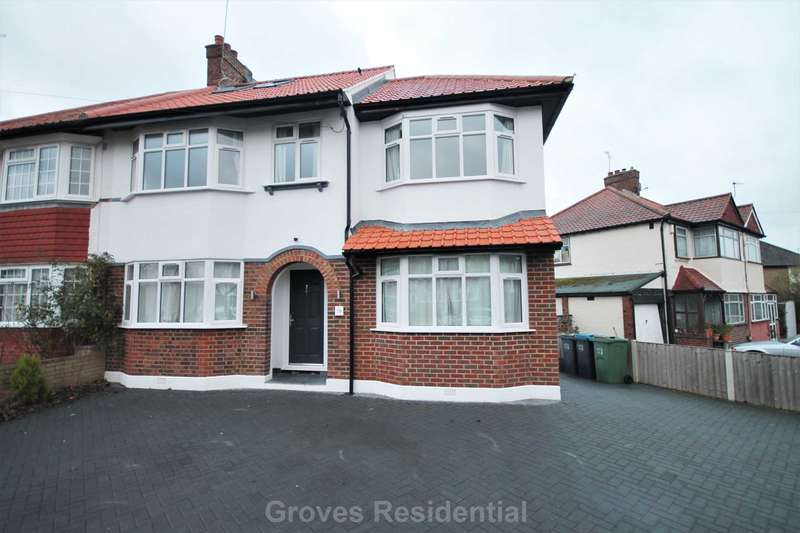 5 Bedrooms Semi Detached House for rent in Groveland Way, New Malden